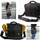Shockproof Waterproof DSLR Camera Shoulder Bag Case for Canon Nikon + Rain cover