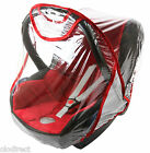 UNIVERSAL CAR SEAT RAIN COVER / RAINCOVER FITS MOST CAR SEATS 0-13KG
