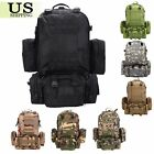 Outdoor Molle Military Tactical Hiking Backpack Rucksack Trekking Camping Bag
