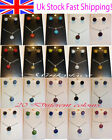 Pretty Shamballa Pendant Necklace and Stud Earrings Set All Colours