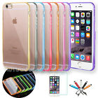 For iPhone 6 6S 7 Slim Transparent Crystal Clear Hard TPU Case iPhone 7 Plus #49