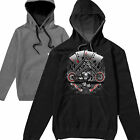 Hot Rod 58 Aces Harley Bobber Chopper Route 66 Biker Hoodie Hoody T shirt S-3XL1