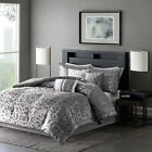 BEAUTIFUL MODERN ELEGANT CHIC CONTEMPORARY CHARCOAL GREY ...