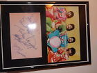 THE BEATLES SGT PEPPER SIGNED AUTOGRAPHED A4 PRINT PP ON FRAME OR MOUNT MINT