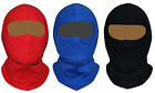 BALACLAVA 100% COTTON OPEN FACE MOTORCYCLE MOTORBIKE HELMET SOFT SKI ONE SIZE