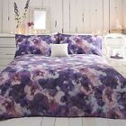 Rjr.John Rocha Designer Purple Pansies Bed Linen From Debenhams