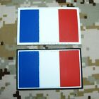 The Flag of France Tactical Military Morale 3D PVC  Patch