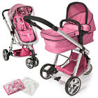 Pram travel system 3 in 1 combi stroller buggy baby child jogger push chair New