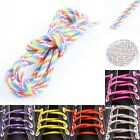 5 Core paracord Round Rainbow Shoelaces Sneakers Shoe Boot Cord String lace Rope