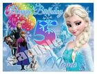 Frozen Movie Icing Birthday Edible Image Cake Topper Personalized Frosting Sheet
