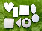 X large wooden shapes choice of size geometric heart laser cut crafts 3 mm thick