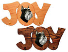 Schnauzer (Miniature) Dog Joy Leash Holder In Home Wall Decor Products & Gifts