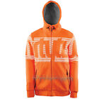 THIRTYTWO thirty-two 2015 Mens Snowboard Snow Orange STAMPED ZIP FLEECE HOODIE