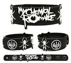 MY CHEMICAL ROMANCE Rubber Bracelet Wristband May Death Never Stop You