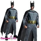 Deluxe Licensed Batman Muscle Chest Dark Knight Rises Costume Outfit