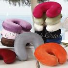 Soft Memory Foam Neck U Shape Pillow Headrest Travel Car Flight Nursing Cushion