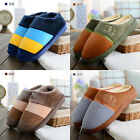 New Men's Winter Non-slip Household Floor Slippers Warm Cotton Shoes US 6-10