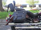 Motorcycle Leather Saddlebags The Leatherworks 105 - Made to Order in the USA