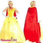 Deluxe Disney Belle Costume Beauty The Beast Movie Fancy Dress Ball Gown