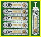 NFL GREEN BAY PACKERS TEAM NAME & LOGO CEILING FAN REPLACEMENTS BLADES- 5 BLADES