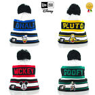Adults New Era Disney Jake Donald Duck/Pluto/Goofy/Mickey Mouse Pom Beanie Hats