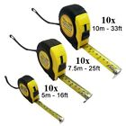 Professional Standard Measuring Tape Measure Locking DIY Metric Measurement New