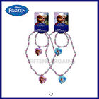 DISNEY FROZEN Elsa Anna Olaf 2Pc Necklace Bracelet Set JEWELLERY Gift Girls