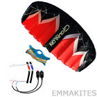 FREE POSTAGE 3m² Quad Lines Stunt Power / Traction Kite / Kiteboard For Beginner