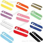 Colorful Back Cover Case Up & Down Edge Glass Replacement For Apple iPhone 5S