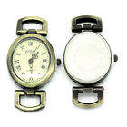 """Wholesale HOT!Jewelry Watches Face Oval Bronze Tone 5cmx2.7cm(2""""x1 1 8"""")"""