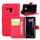 Stand Wallet Leather Case Flip Cover For Alcatel One Touch Pop D5 OT-5038E #i