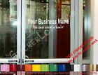2 Line STORE NAME CUSTOM WINDOW DECAL BUSINESS SHOP Storefront DOOR SIGN COMPANY