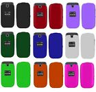 Solid Hard Faceplate Cover Phone Case for LG True 450 MS450 Phone Accessory
