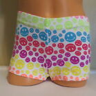 Cotton Rainbow Smiley Face Gymnastics or Cheer Shorts