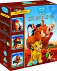 THE LION KING TRILOGY 3-MOVIE COLLECTION BLU-RAY BOX SET REGION-FREE BRAND NEW