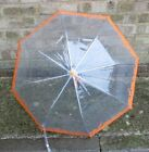 Childs Orange Parapluie Umbrella by Drizzles