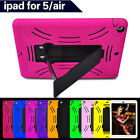 Case Cover Skin For iPad 5 iPad Air Hybrid Heavy Duty Tough With Kickstand