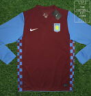 BNWT Official Nike Aston Villa Home Shirt Long Sleeved - All Sizes - AVFC Jersey