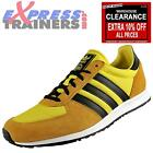Adidas Originals Mens Adistar Racer Classic Retro Trainers Mustard *AUTHENTIC*