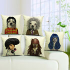 Different Manlike Dog Print Pillowcase Pillowshams Bedding Pillow Cover zzzz