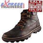 Caterpillar Mens CAT Goldfield Water Resistant Walking Boots Brown *AUTHENTIC*