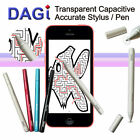 Apple iPad Air 1 2 Mini 3 iPhone 4S 5s 6 Plus Stylus Styli Pen Griffel DAGI P507