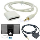 aux docks - Stereo 3.5mm 30 Pin AUX Input Dock Connector Cable Adapter For iPod iPhone 4 4S