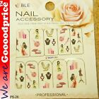 Color Printing Water Tranfer Nail Art Stickers Gift high-heel Lady Style 6-26
