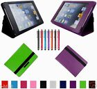 "Carry Leather Case Cover+Gift For 7.85"" Mach Speed TRIO AXS 4G G4 Tablet BW"