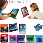 Child Kid Shock Proof Case Thick Foam EVA Cover With Handle Stand for iPad 2 3 4