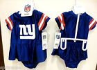 New York Giants NFL Baby Girl's Stylish Jersey Dress Outfit FREE SHIPPING!!