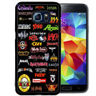 80S ROCK MUSIC RUBBER CASE FOR SAMSUNG S5 S6 S7 S8 EDGE PLUS