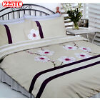 225TC CHERRY BLOSSOM Quilt / Duvet Cover Set - DOUBLE QUEEN KING or Cushion