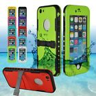 100% Waterproof Shockproof Dirt Snow Proof Durable Case Cover For iPhone 6 Plus